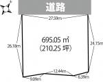 三瀬字宮ノ前・200万土地 [T1927]