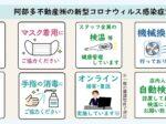 阿部多不動産(株)の新型コロナウィルス感染症対策